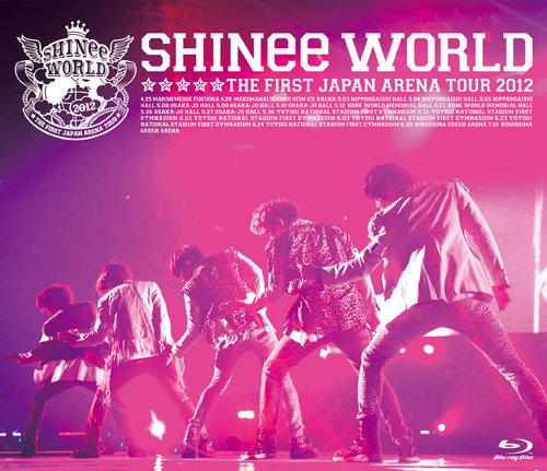 通常盤 Blu-ray(初回生産分)<br>[SHINee THE FIRST JAPAN ARENA TOUR