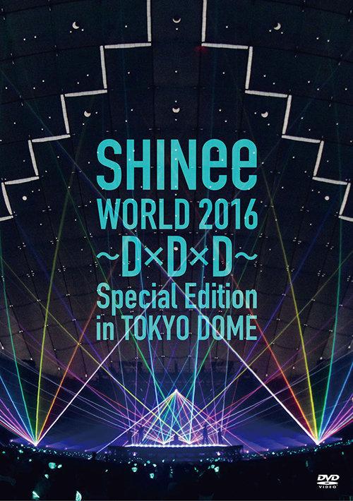 通常盤DVD<br>[SHINee WORLD 2016~D×D×D~ Special Edition in TOKYO DOME]