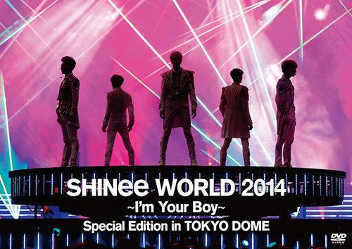 通常盤DVD<br>[SHINee WORLD 2014~I'm Your Boy~ Special Edition in TOKYO DOME]